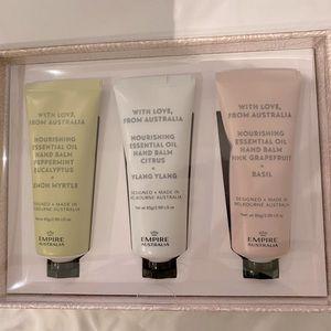 Empire Australia essential oil hand cream box set